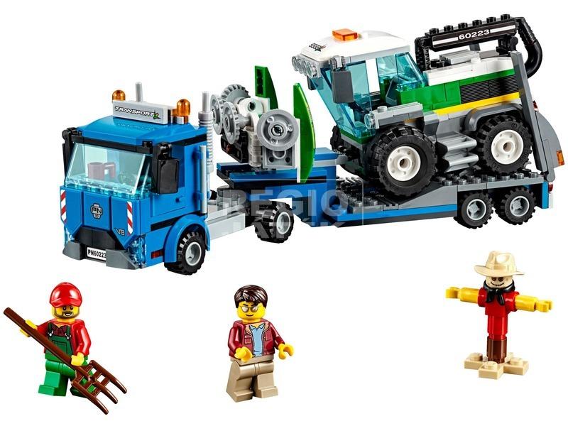kép nagyítása LEGO® City Kombájn szállító 60223