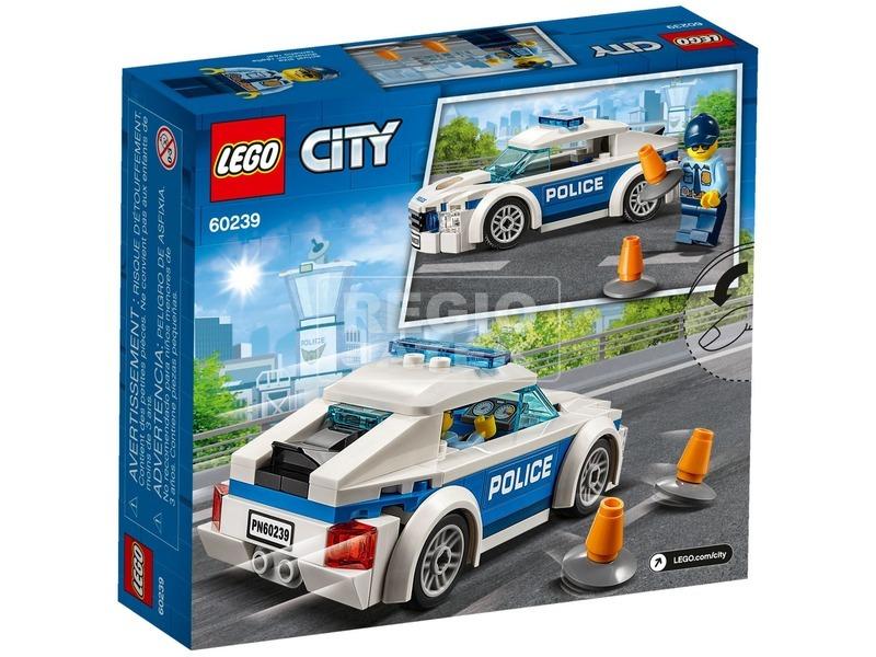 kép nagyítása LEGO® City Rendőrségi járőrkocsi 60239