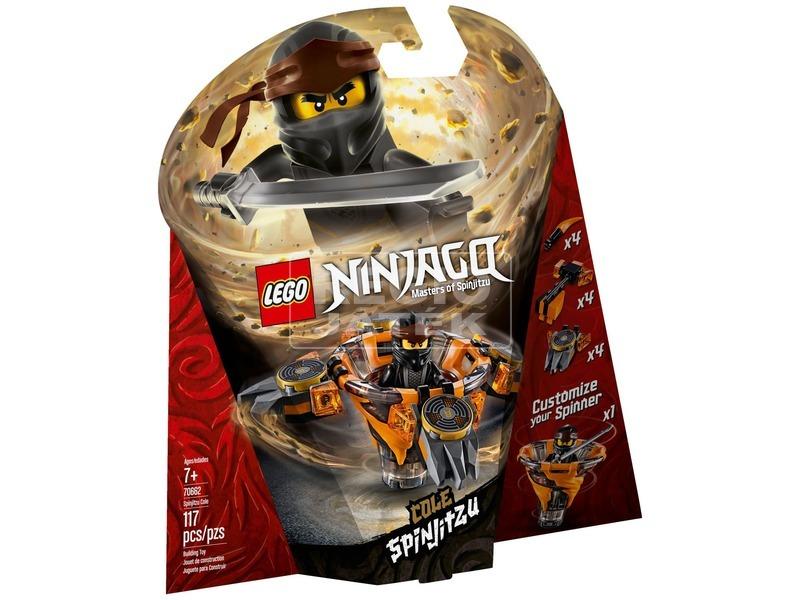 LEGO® Ninjago Spinjitzu Cole 70662