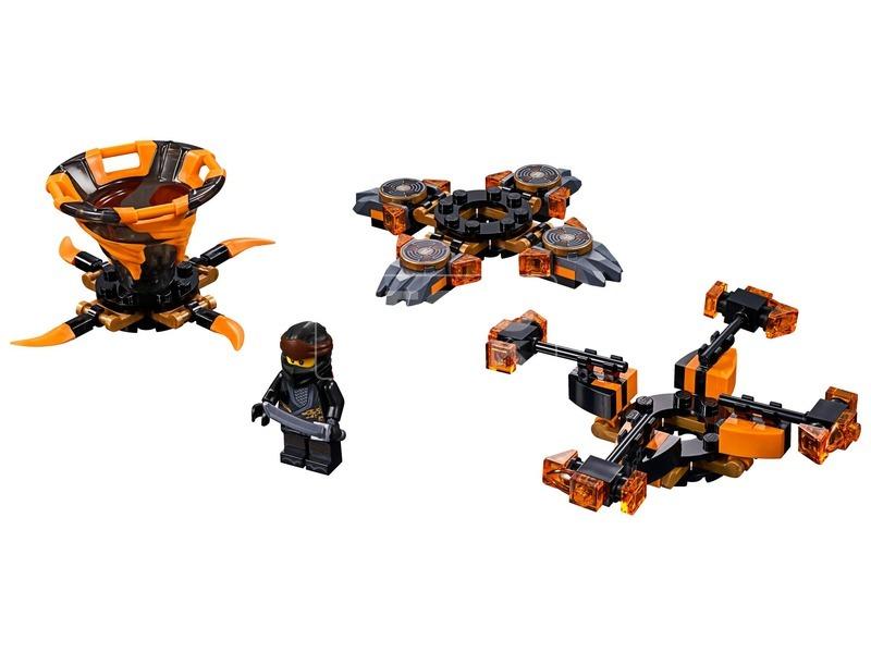 kép nagyítása LEGO® Ninjago Spinjitzu Cole 70662
