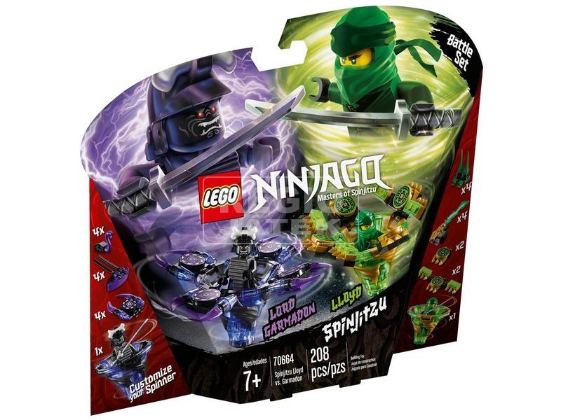 LEGO® Ninjago Spinjitzu Lloyd és Garmadon 70664