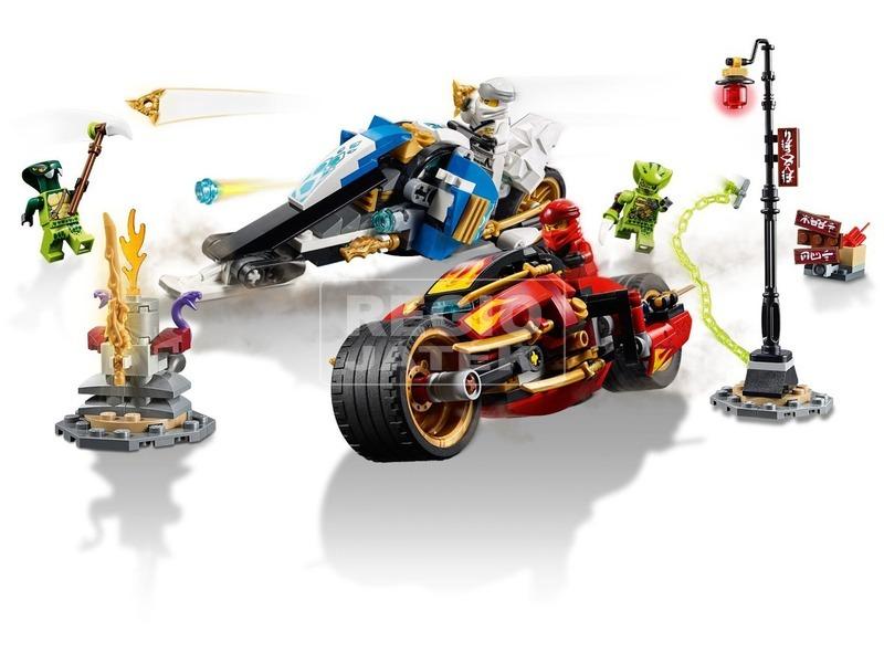 kép nagyítása LEGO® Ninjago Kai motorja és Zane szánja 70667