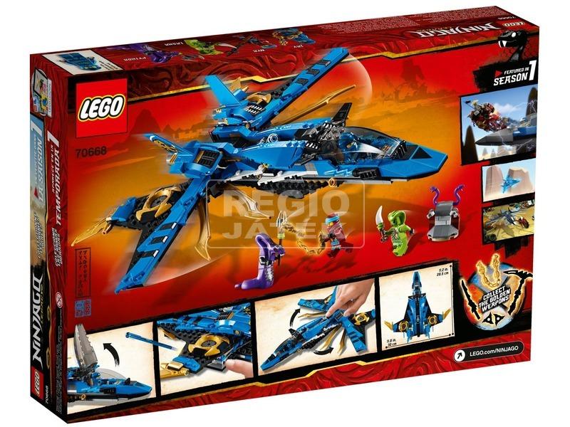kép nagyítása LEGO® Ninjago Jay viharharcosa 70668