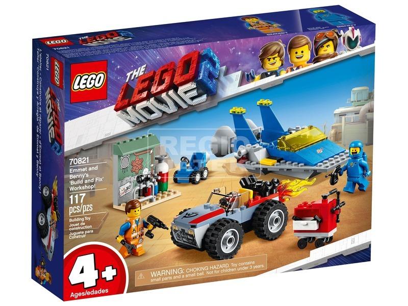 LEGO® Movie Emmet és Benny műhelye 70821