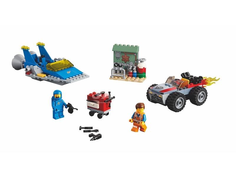 kép nagyítása LEGO® Movie Emmet és Benny műhelye 70821