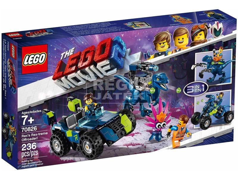 LEGO® Movie Rex-trém terepjáró 70826