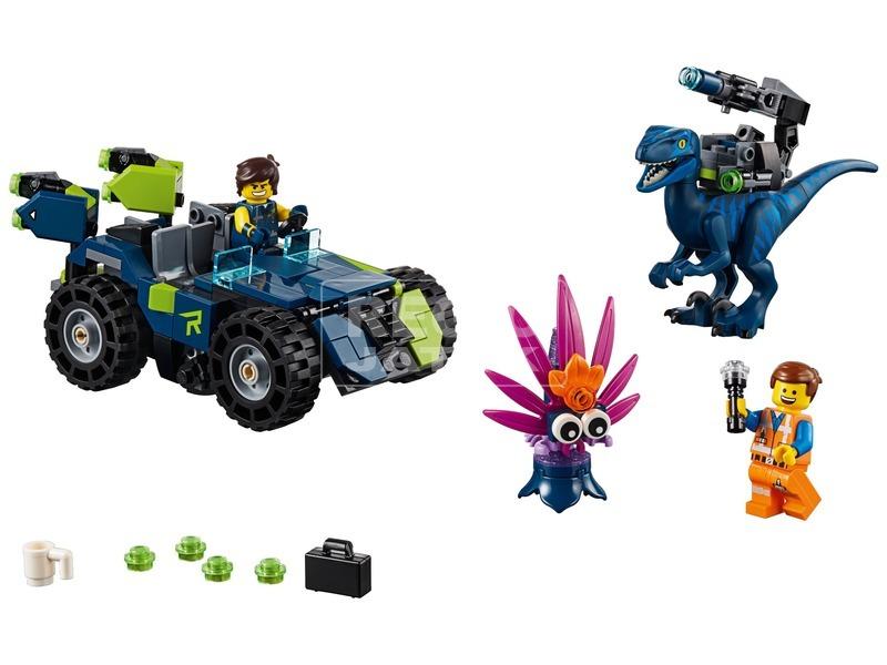 kép nagyítása LEGO® Movie Rex-trém terepjáró 70826