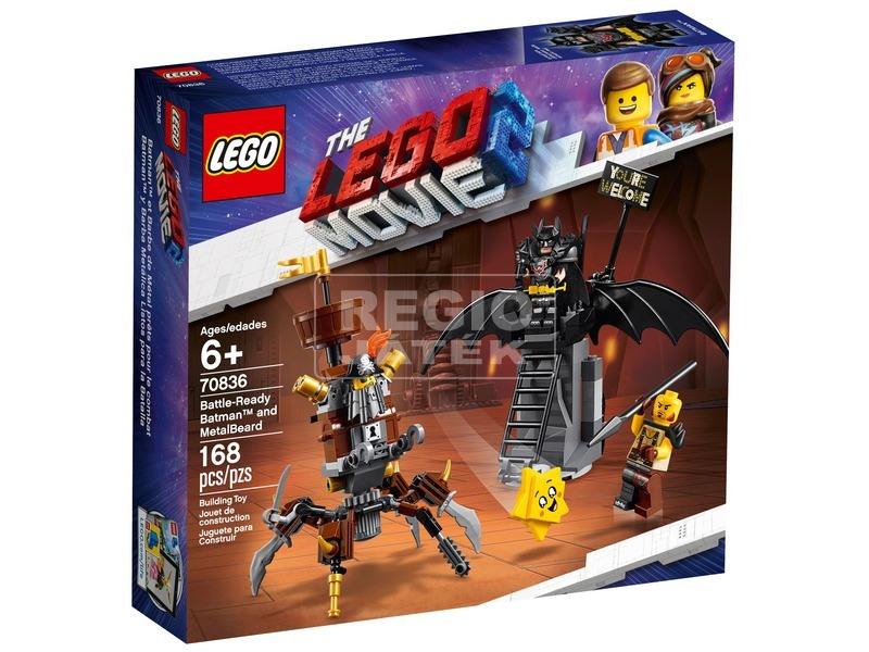 LEGO® Movie Harcra kész Batman és Fémszakáll 70836