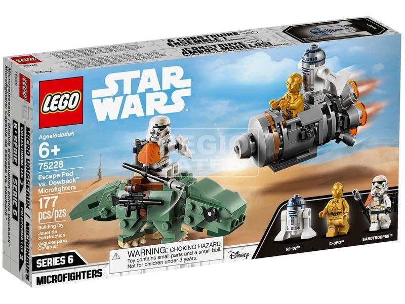 LEGO® Star Wars Mentőkabin a Dewback™ ellen 75228
