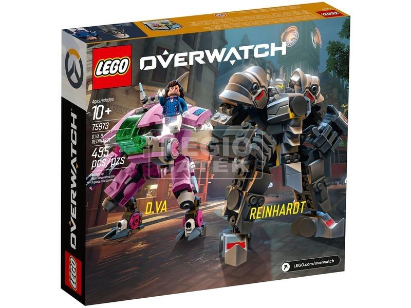 kép nagyítása LEGO® Overwatch D. Va és Reinhardt 75973