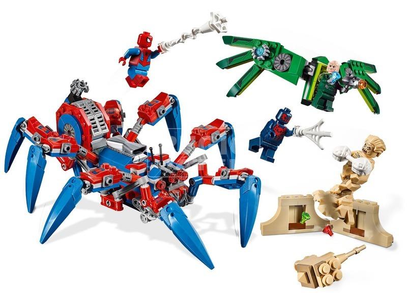 kép nagyítása LEGO® Super Heroes Pókember pók terepjárója 76114