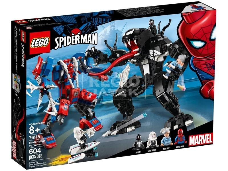 LEGO® Super Heroes Pók robot vs. Venom 76115