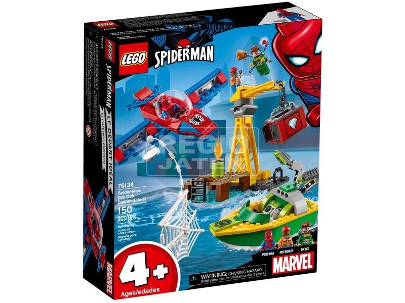 LEGO® Super Heroes Pókember gyémántrablás 76134