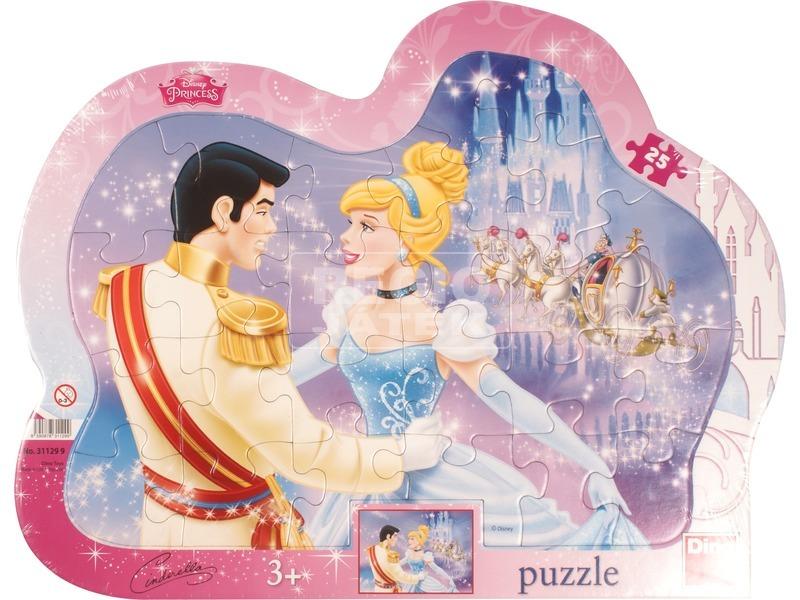 Disney hercegnők Hamupipőke 25 darabos puzzle
