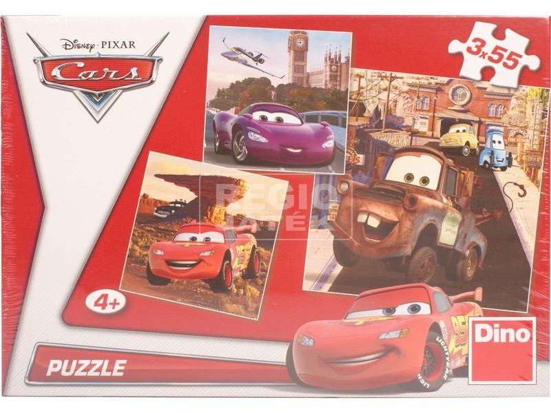 Verdák 3 x 55 darabos puzzle