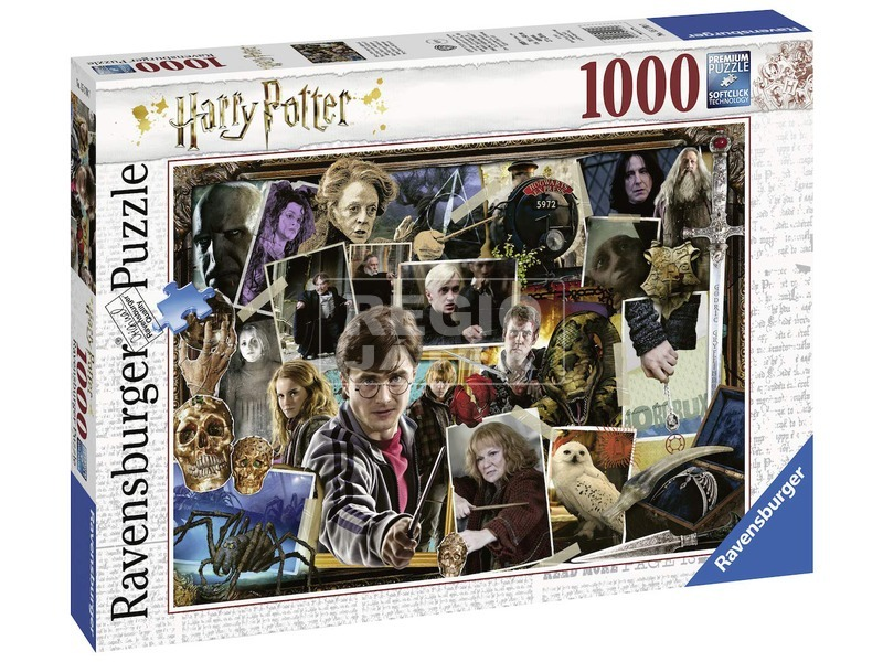 Harry Potter 1000 darabos puzzle