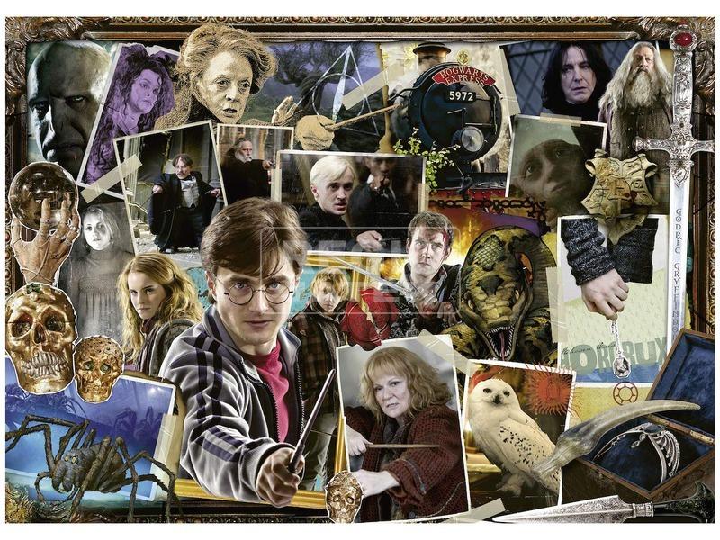kép nagyítása Puzzle 1 000 db - Harry Potter