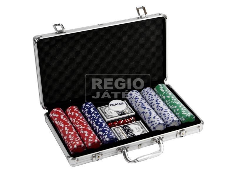 kép nagyítása Alu bőröndös póker készlet 300 darab zsetonnal