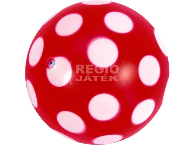 Pöttyös labda - 11 cm, többféle