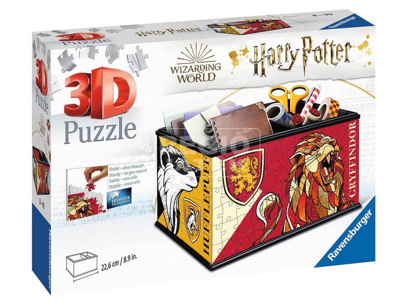 Puzzle 3D 216 db - Asztali tartó Harry Potter