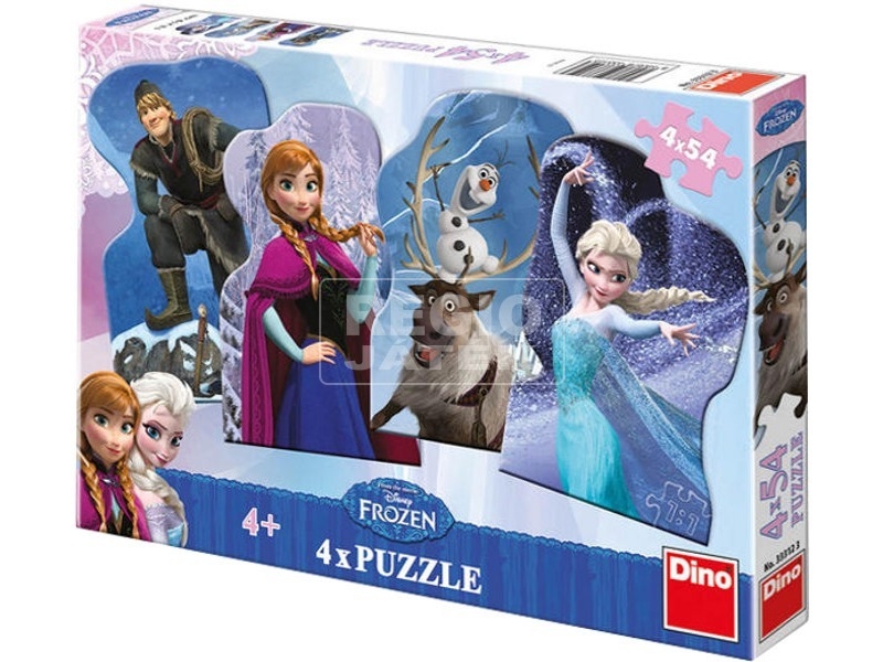 Jégvarázs 4 x 54 darabos puzzle