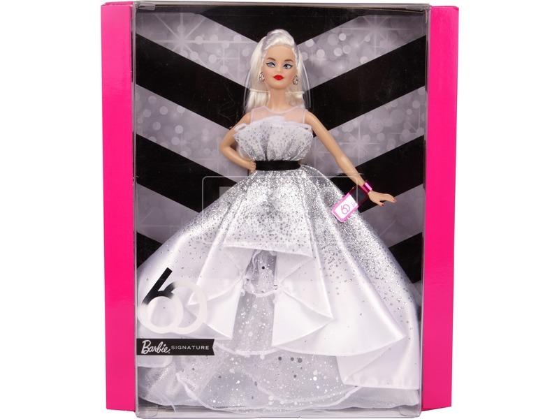 Barbie 60. születésnap baba - 29 cm