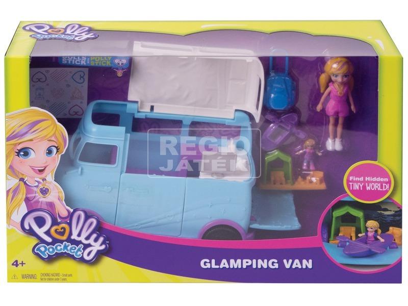 Polly Pocket lakókocsi készlet