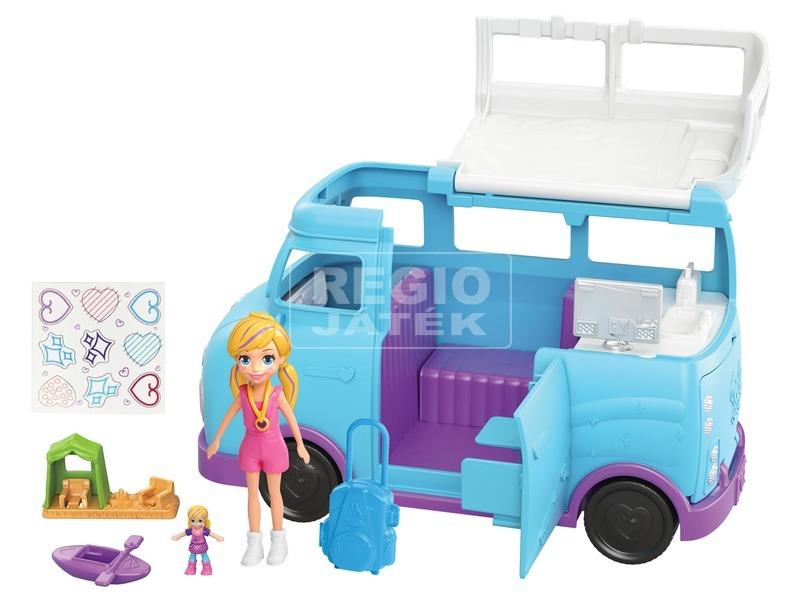 kép nagyítása Polly Pocket lakókocsi készlet
