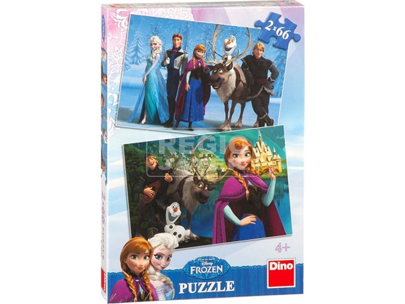 Jégvarázs 2 x 66 darabos puzzle
