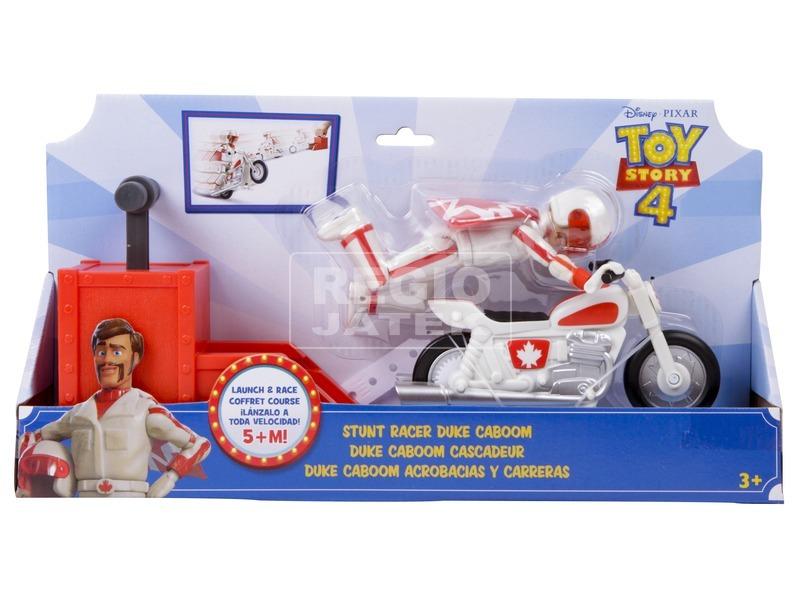Toy Story 4 Duke Caboom figura motorral