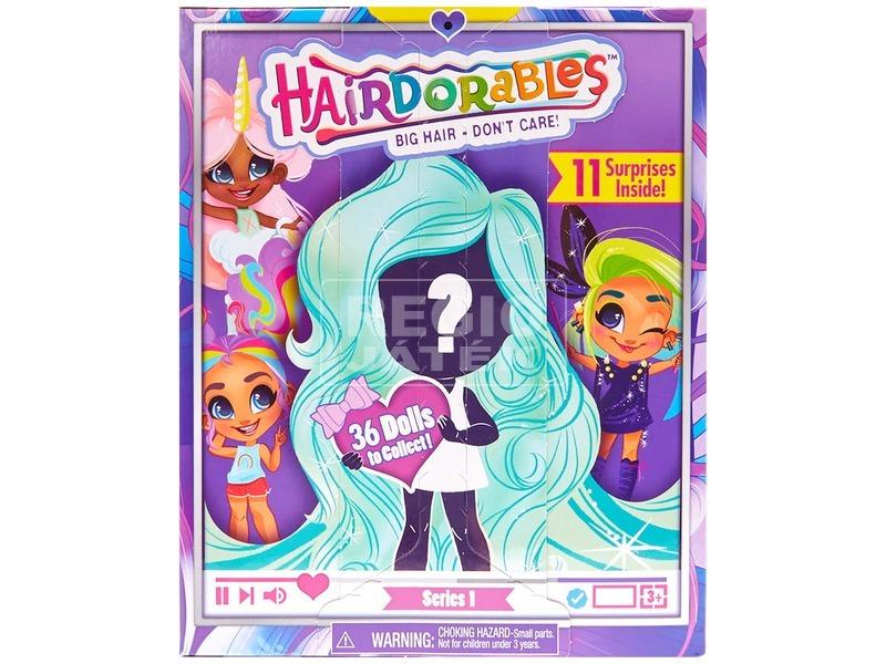 Hairdorables imádnivaló meglepetés hajas baba