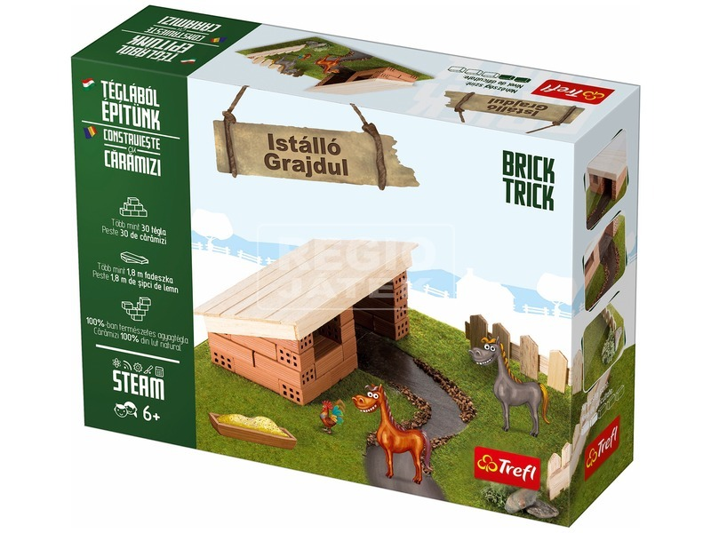 Brick Trick istálló építőjáték