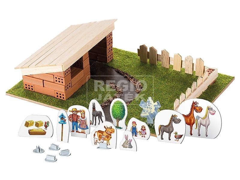 kép nagyítása Brick Trick istálló építőjáték