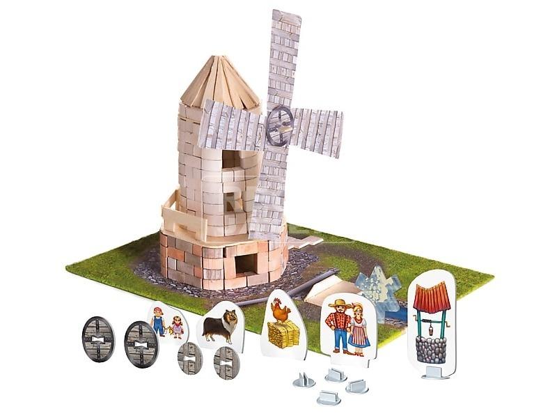 kép nagyítása Brick Trick szélmalom építőjáték