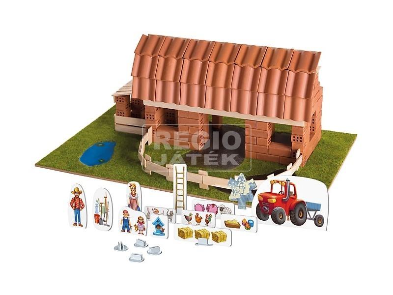kép nagyítása Brick Trick farm ház építőjáték