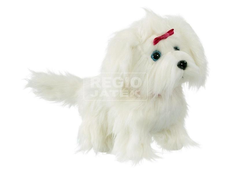 kép nagyítása Fluffy a sétáló szőrgombóc kutyus - 22 cm
