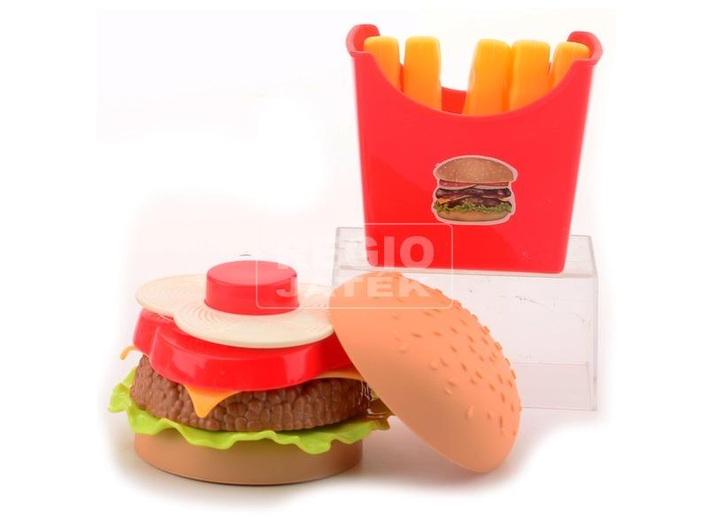 kép nagyítása Hamburger menü játékkészlet
