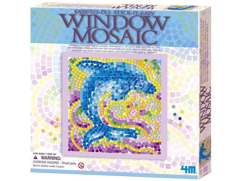 4M ablakmozaik készlet - többféle