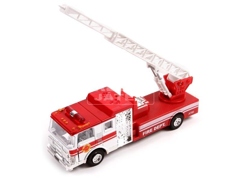 kép nagyítása Tűzoltóautó fénnyel és hanggal - 19 cm