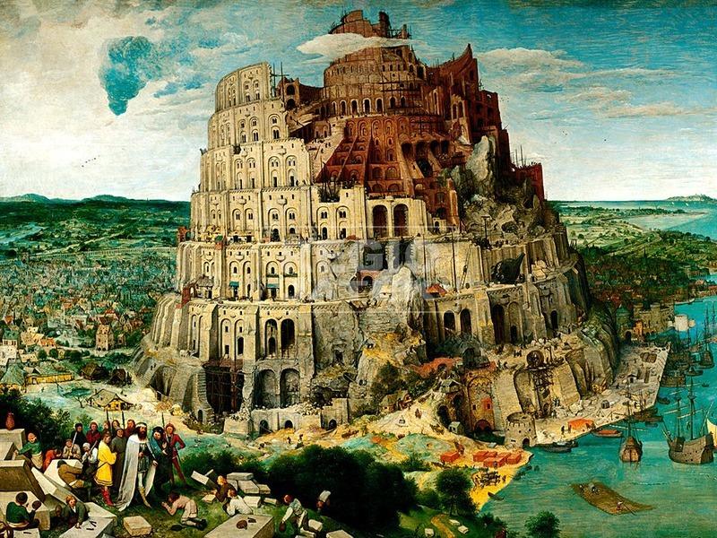 Brueghel: Bábel tornya 5000 darabos puzzle