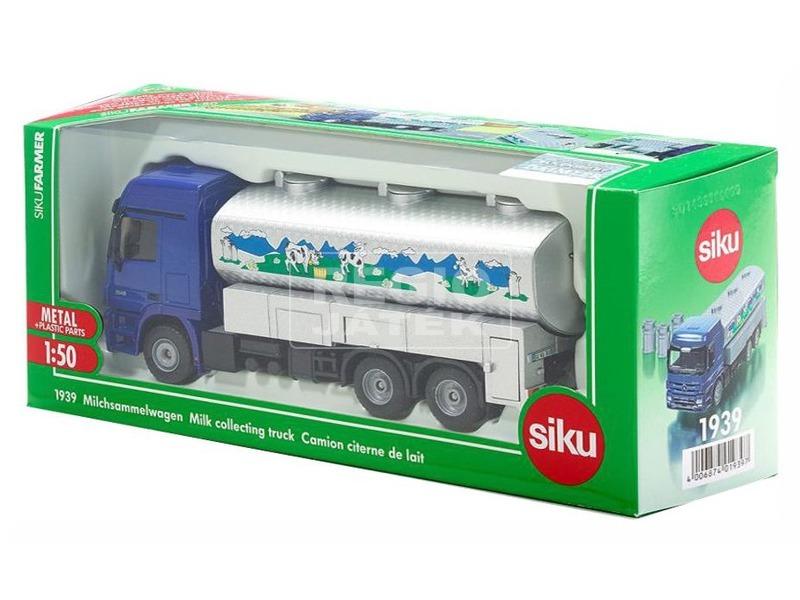 kép nagyítása SIKU: Tejszállító teherautó - 1:50