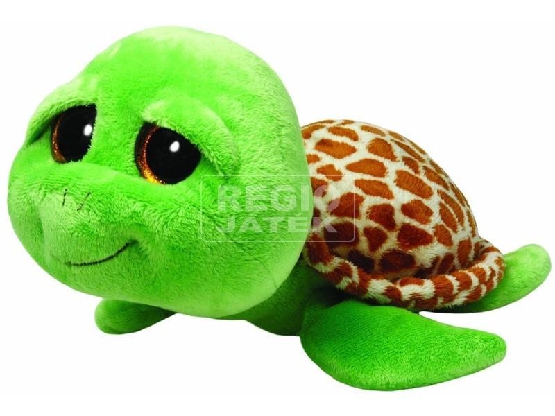 Zippy teknős plüssfigura - 24 cm