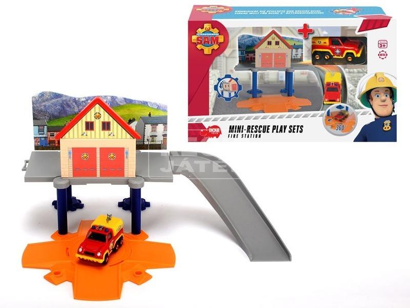 kép nagyítása Sam a tűzoltó mini mentő játékkészlet