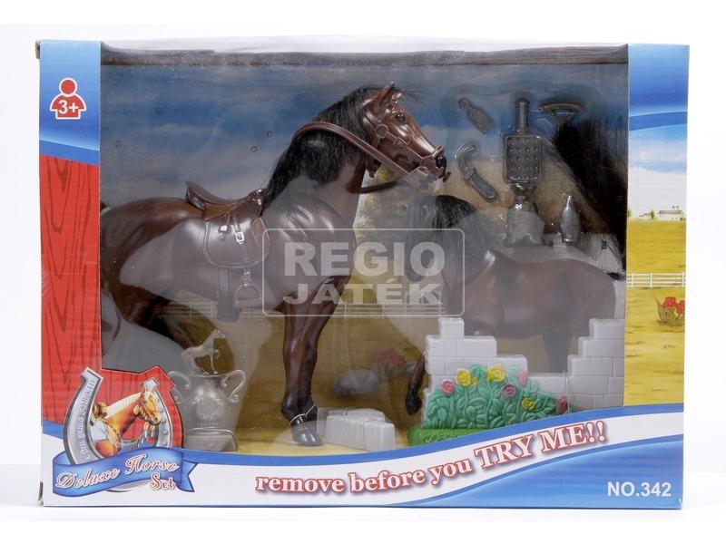 kép nagyítása Ló és csikó készlet - 19 cm