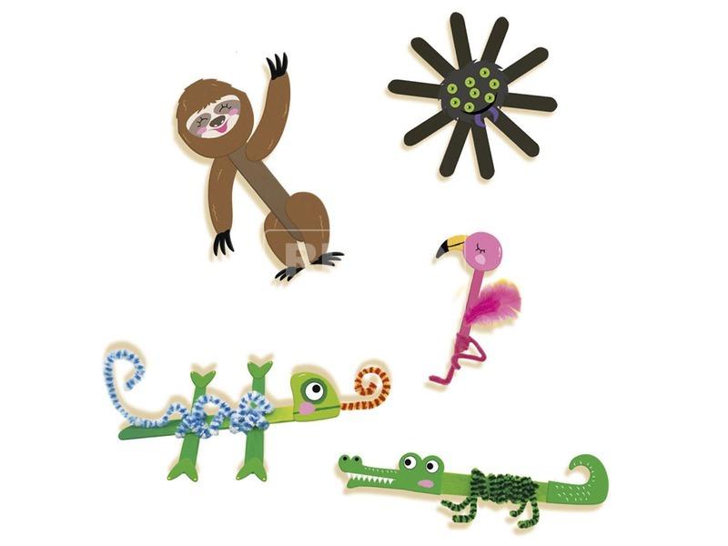 kép nagyítása Pálcika állat készítő készlet