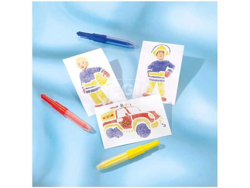 kép nagyítása Sam a tűzoltó festékszóró toll készlet