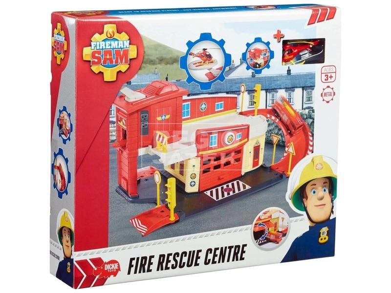 Sam a tűzoltó tűzoltóállomás játékkészlet
