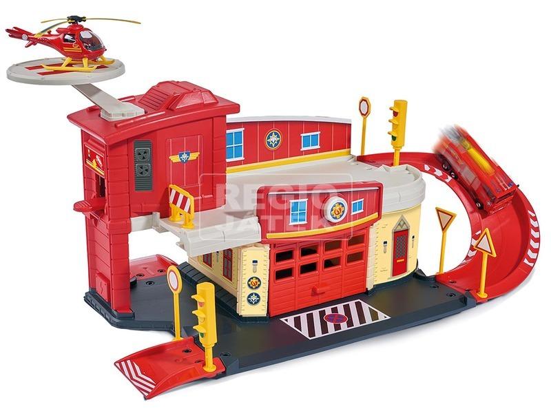 kép nagyítása Sam a tűzoltó tűzoltóállomás játékkészlet