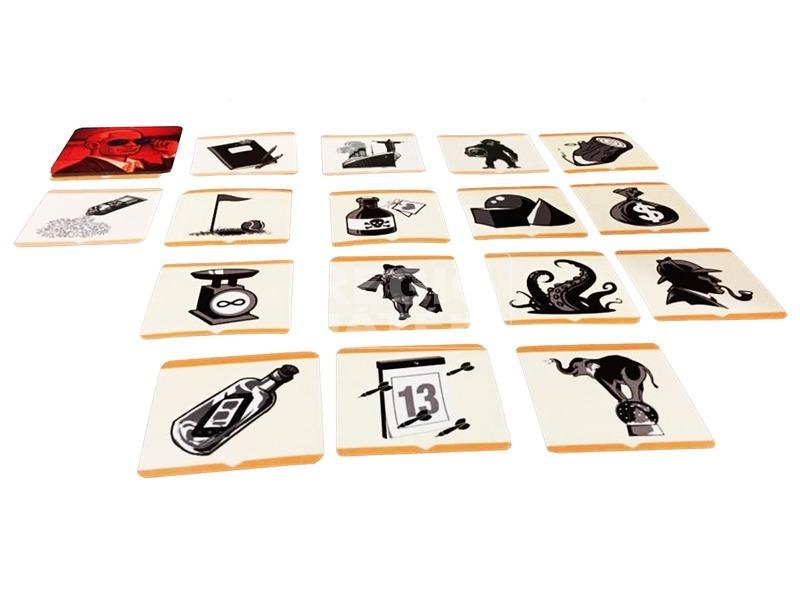 kép nagyítása Fedőnevek képekkel - party társasjáték