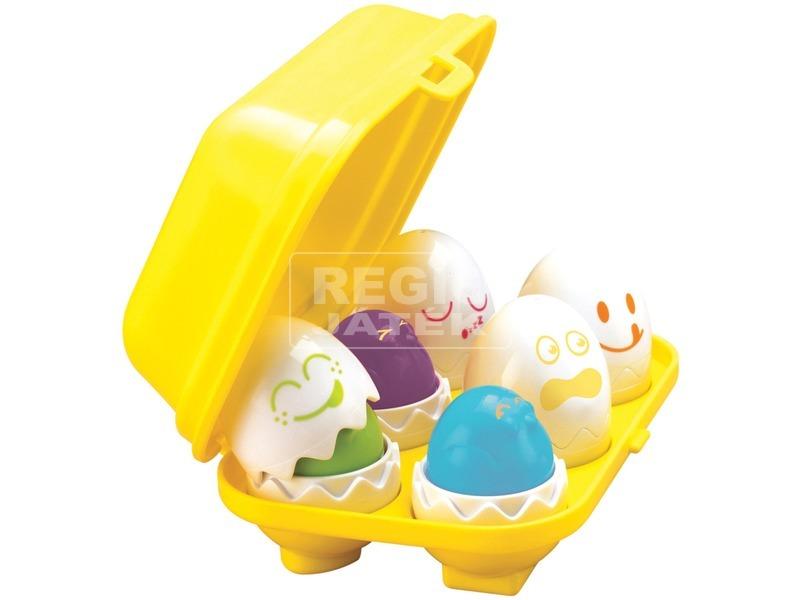 Bújócskázó tojások bébijáték
